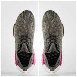 Adidas Men's NDM R1 Primeknit Sneakers Size 9.5